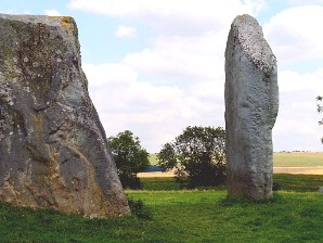 We visit Avebury, the world's largest stone circle