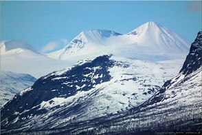 The mountains of Padjelanta, Swedish Lappland. Photo: kvikkjokk-28267
