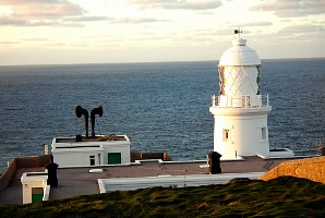 Pendeen lighthouse - with foghorn