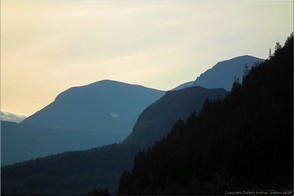 Mountains above Kvikkjokk, Swedish Lappland. Photo Lappland-18569