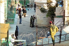 Military occupation, Hebron, Palestine. Photo Hebron-20400