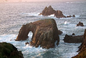 Enys Dodnan, just south of Land's End