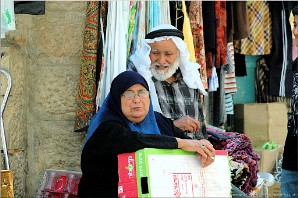 Two old inhabitants of Bethlehem, Palestine | Photo: btlhm-ppl-9654
