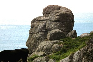 Denizen at Carn les Boel, south of Land's End, Cornwall