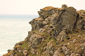 Contemplating the view, Cudden Point, Penwith, Cornwall