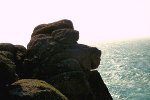 The Hound of the Gwennapies, Gwennap Head, Cornwall